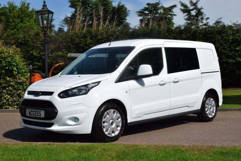 ford transit connect 5 seat crew van l2 lwb in pilgrims hatch essex gumtree. Black Bedroom Furniture Sets. Home Design Ideas