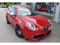 2012 Alfa Romeo Mito 1.4 TB MultiAir Quadrifoglio Verde 3dr Petrol red Manual