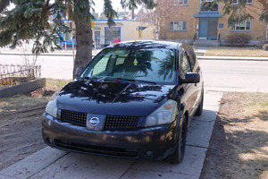 2005 Nissan Quest fully loaded