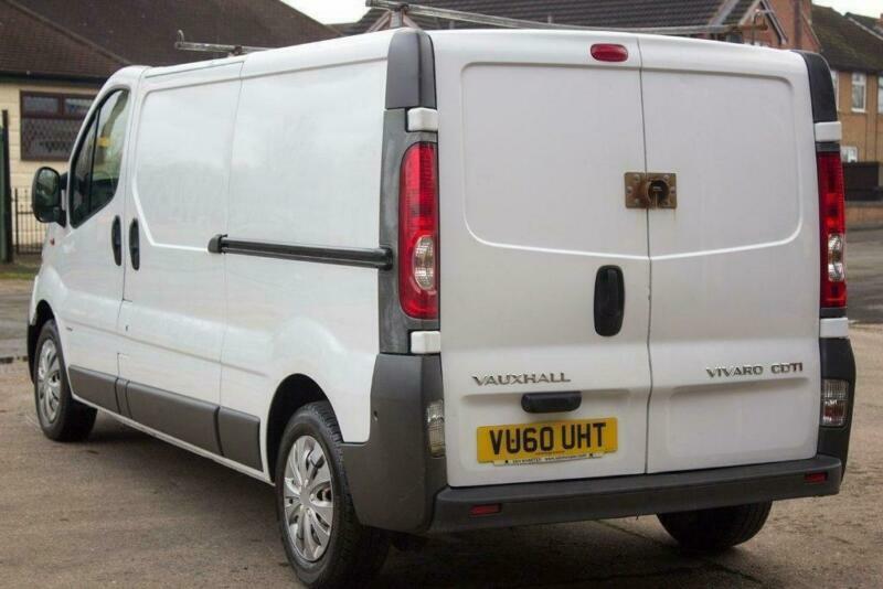348ede7ee6 2010 Vauxhall Vivaro 2.0 CDTI 2900 Panel Van 4dr (EU4