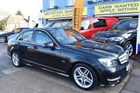 GOOD CREDIT CAR FINANCE AVAILABLE 2012 12 MERCEDES C220 CDI SPORT AUTOMATIC