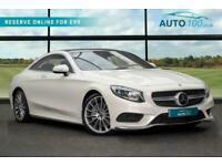 2018 Mercedes-Benz S Class 4.7 S500 V8 AMG Line (Premium) G-Tronic (s/s) 2dr