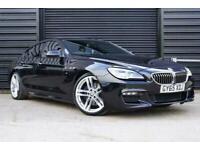 2015 65 BMW 6 SERIES 3.0 640D M SPORT GRAN COUPE 4D 309 BHP DIESEL