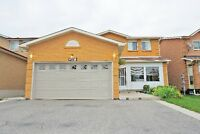 AWESOME 4-BED DETACHED HOUSE IN BRAMPTON (261 CONESTOGA DR.)