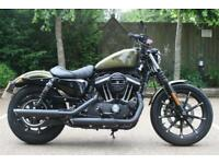 HARLEY DAVIDSON SPORTSTER XL883N IRON 17MY OLIVE GOLD SPORTSTER XL 883 N IRON