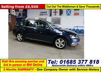 2012 - 62 - VOLKSWAGEN PASSAT SE 2.0TDI BLUEMOTION 5 DOOR ESTATE (GUIDE PRICE)
