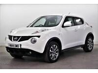 2014 Nissan Juke TEKNA Petrol white Manual