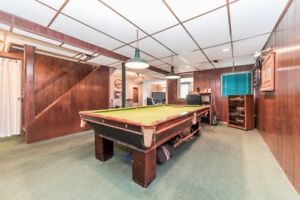 Brunswick Antique pool table
