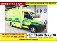 2008 - 08 - IVECO DAILY 50C18 3.0HPI AMBULANCE (GUIDE PRICE)