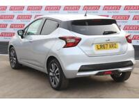 2017 NISSAN MICRA 0.9 IG-T N-Connecta 5dr