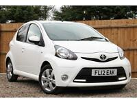 Toyota AYGO 1.0 VVT-i Fire Multimode Automatic 5 Door Hatchback in White