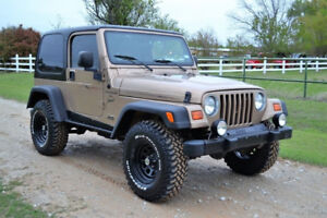 Great Condition 1999 Jeep Wrangler Sport