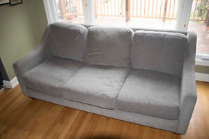 gray couch for sale