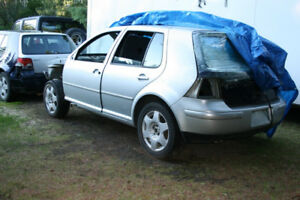2000 VW Golf  for parts