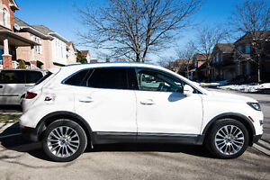 Lease takeover- 2016 Lincoln MKC Reserve SUV , low KM