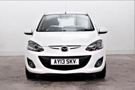 2013 Mazda 2 SPORT Petrol white Manual
