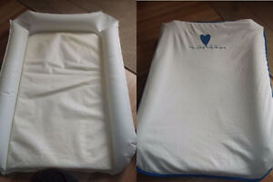 Inflatable Baby Change Pad with Cover from Ikea