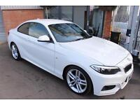BMW 225d M SPORT-XENONS-LOW MILES-1OWNER