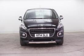 2014 Peugeot 3008 E-HDI ALLURE Diesel black Semi Auto