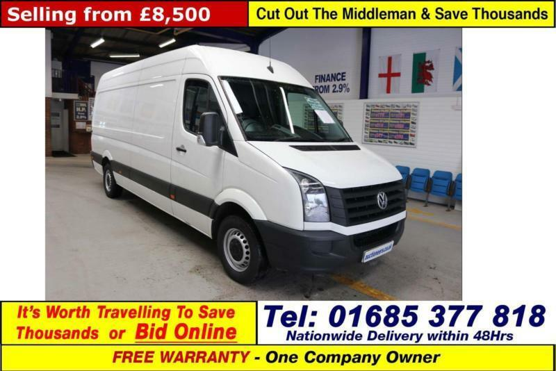 b102ba5156 2014 - 64 - VOLKSWAGEN CRAFTER CR35 2.0TDI 136PS LWB HIGH ROOF VAN (GUIDE  PRICE)