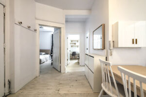 Downtown Renovated&Furnished 3 bed Student Apt-McGill/Concordia