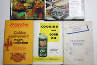 Vintage Cook Books / Local Ads