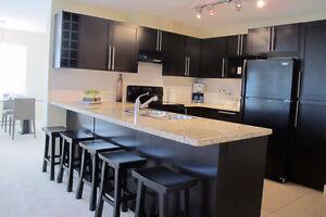 Beautiful 2 bedroom + den garden suite condo for rent