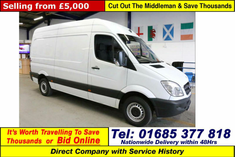 2011 - 61 - MERCEDES SPRINTER 313 2.2CDI MWB HI TOP VAN (GUIDE PRICE)