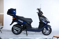 SCOOTER CLEARANCE Saga Deluxe 50cc 4-Stroke Gas Scooter SALE!!
