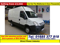 2008 - 57 - IVECO DAILY 50C15 3.0HPI 5.2TON MWB VAN (GUIDE PRICE)