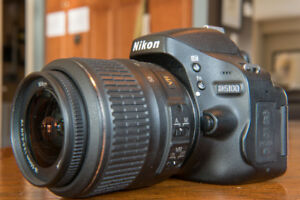 Nikon D5100 DSLR Camera with 2 Lenses & MORE!