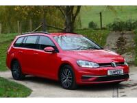 2017 Volkswagen Golf Se Navigation Tdi Bm Auto Estate Diesel Automatic