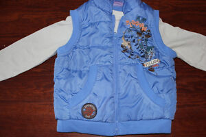 Disney 3T vest and long sleeve shirt $5