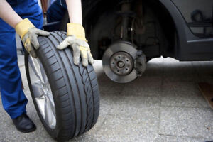 Aswitch summer tires to winter but already on rim,
