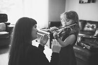 Voice or Violin Lessons in SouthEast Winnipeg