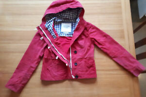 Manteau automne ciré Abercrombie and Fitch oilcloth fall jacke