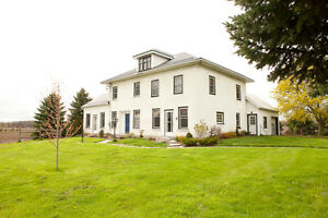 Farmhouse Vacation Rental in Prince Edward County