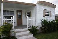 À louer maison mobile à Hallandale en Floride