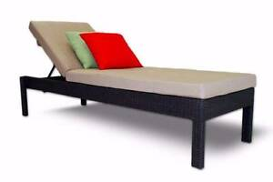 Outdoor Poolside SunLounge Bench with Adjustable Backrest Berwick Berwick Casey Area Preview