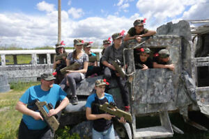 Commercial Laser Tag System for Summer Camps or Youth Groups!