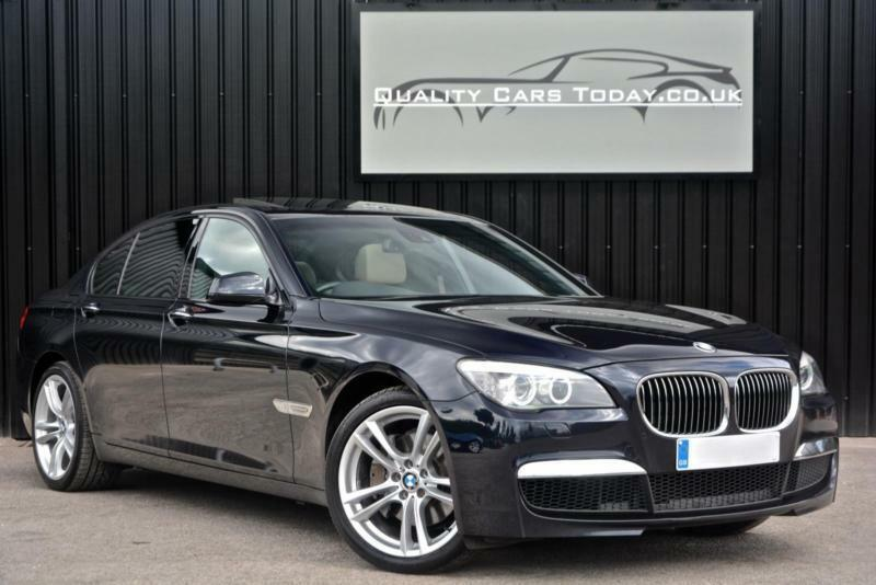 2010 BMW 7 Series 740d M Sport Diesel *Carbon Black + Oyster + Massive Spec*