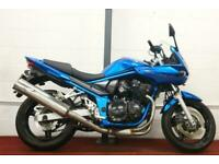 SUZUKI GSF650S BANDIT ABS ** All Keys and Books - May 21 MOT - Centre Stand **