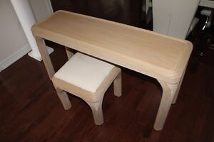 Console Table with Stool For Sale
