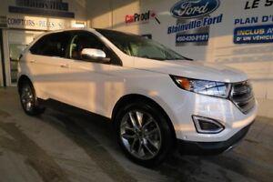 Ford Edge Titanium Awd Cuir 2016
