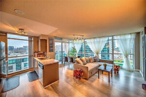 2 br 2 bth Waterfront Condo for Lease - Downtown Toronto+parking