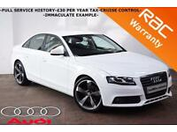 2011 Audi A4 2.0TDI SE-FULL SERVICE HISTORY-BLUETOOTH-CRUISE-IBIS WHITE-FINANCE-