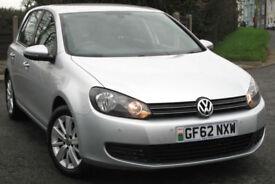 Volkswagen GOLF Match 1.4 TSI AUTO - dsg 122ps 2012 - 62 reg : only 39k miles