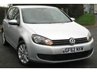 Volkswagen GOLF Match 1.4 TSI AUTO - dsg 122ps 2012 - 62 reg : only 39k miles