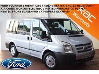 2012 Ford Transit 2.2TDCi (140PS) (EU5) 280S (9 SEATER) Tourneo 280 SWB Trend