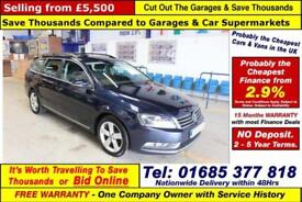 2012 - 12 - VOLKSWAGEN PASSAT 2.0 TDI 138 BLUEMOTION TECH SE 5 DOOR ESTATE